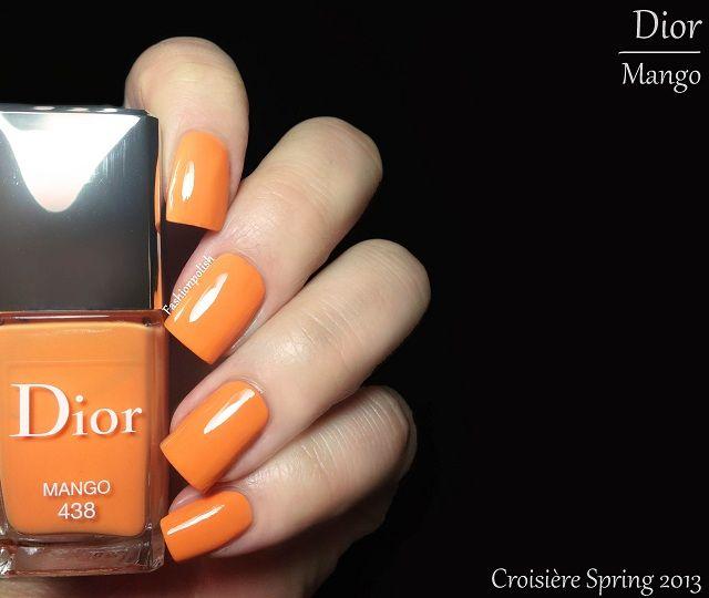 Dior Cruise Collection 2013 (Spring 2013): Vernis 438 - Mango ...