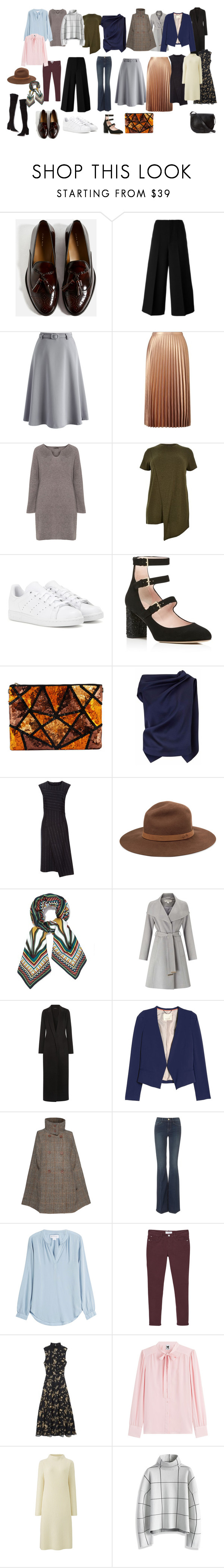"""""""апп"""" by inna-maksymets ❤ liked on Polyvore featuring Marni, Chicwish, Miss Selfridge, Open End, River Island, Loeffler Randall, adidas, Kate Spade, Roland Mouret and Cédric Charlier"""