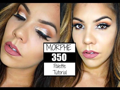 MORPHE 35O Palette Tutorial (plus using new products) - YouTube