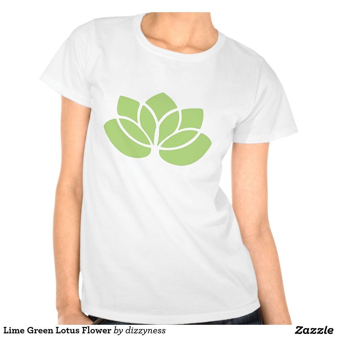 Lime green lotus flower t shirt lotus flower and lotus lime green lotus flower tshirt httpzazzle izmirmasajfo Images