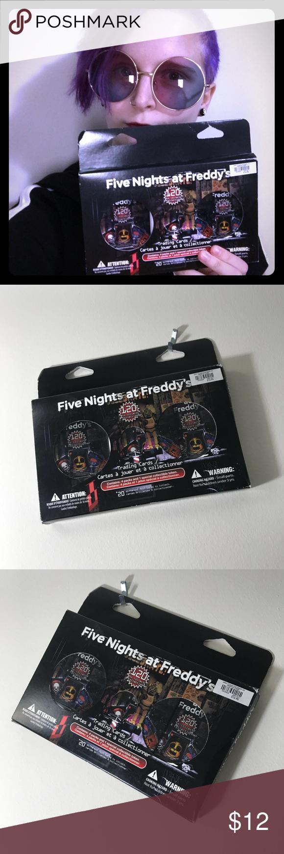fnaf trading cards