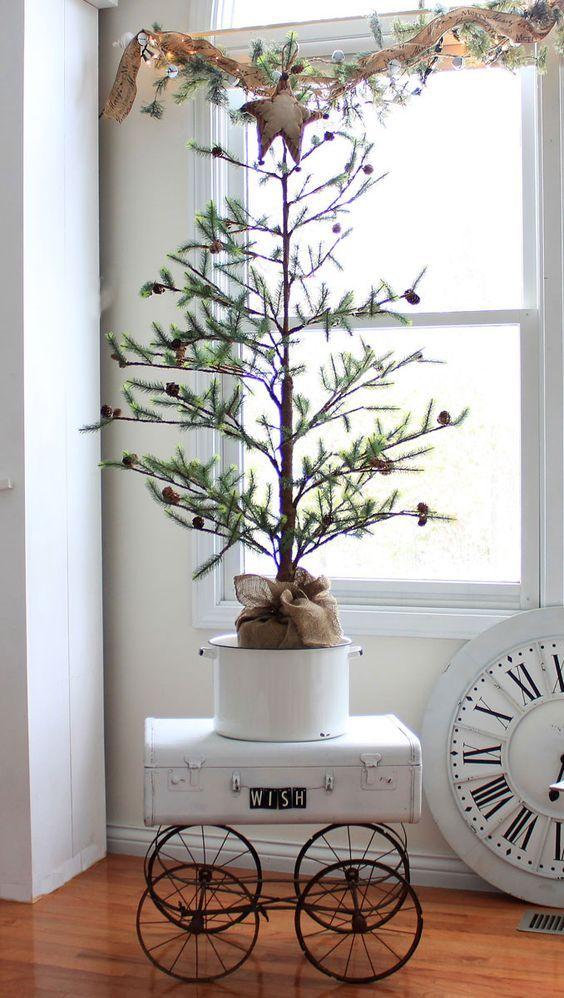 Decorare il Natale in stile Shabby Chic! 20 idee per