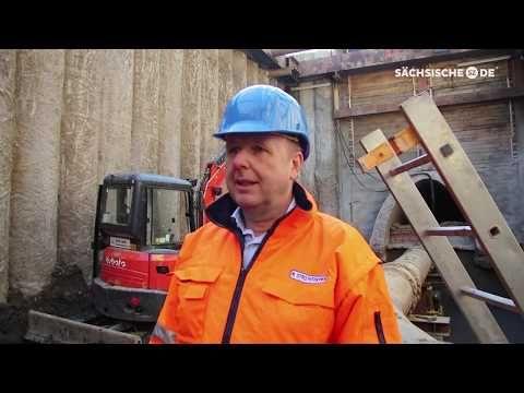 Kanalbau Rathenauplatz - YouTube