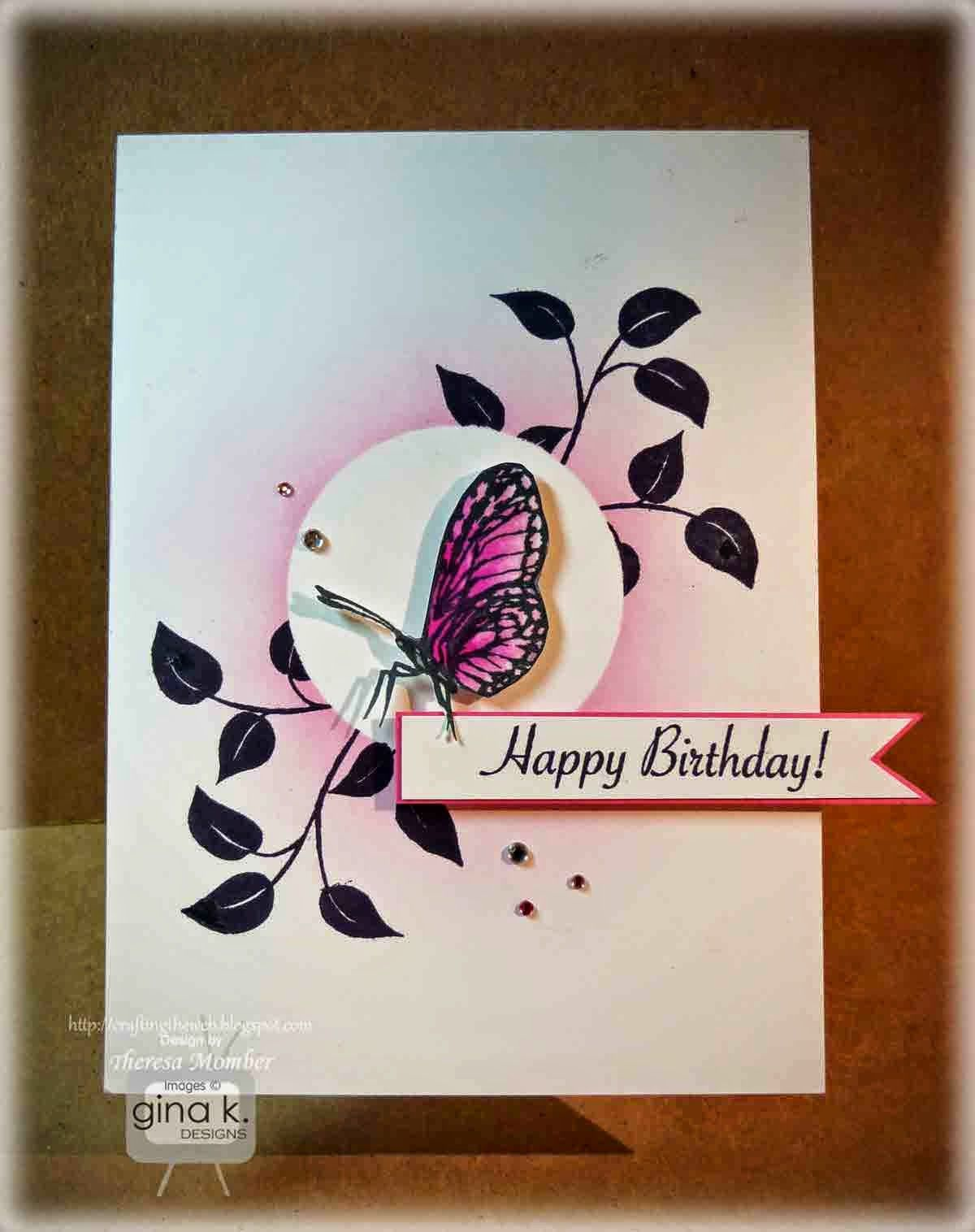 Birthday butterfly card making video butterfly cards butterfly birthday butterfly card making video m4hsunfo