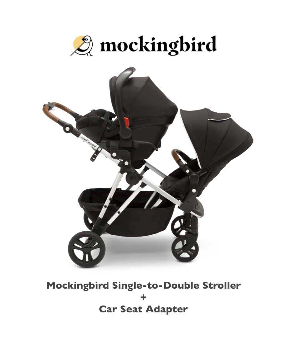 Want To Add A Carseat To Your Mockingbird Stroller? Use A