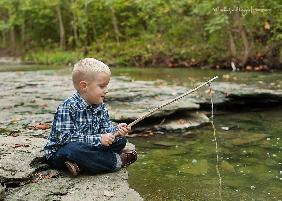 Fishing fun so cute for little boy pictures mischief and for Fishing in cincinnati