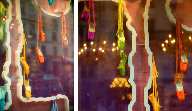Repetto's window displays: discover our most beautiful window displays