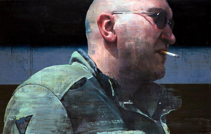 """Francois Bard - galerie Olivier Waltman """" après l'Horizon"""""""