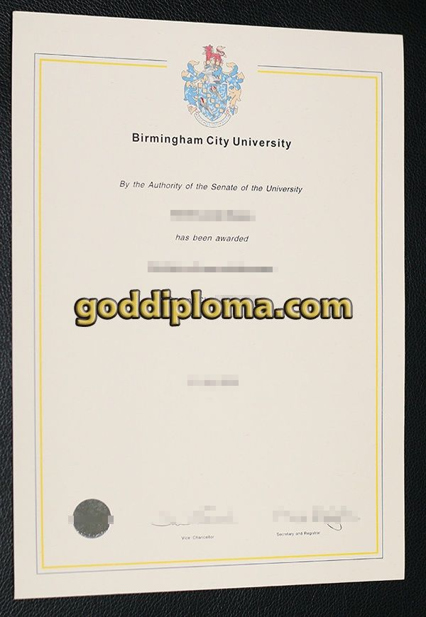 Birmingham city university diploma degree , fake diploma , fake ...