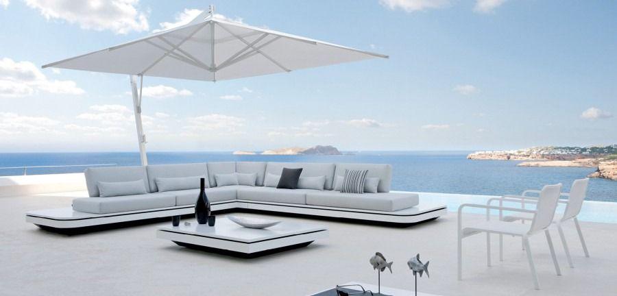 Elements Collection   MANUTTI   Luxurious Belgian Outdoor Furniture. Ultra Modular  Outdoor Lounging Island
