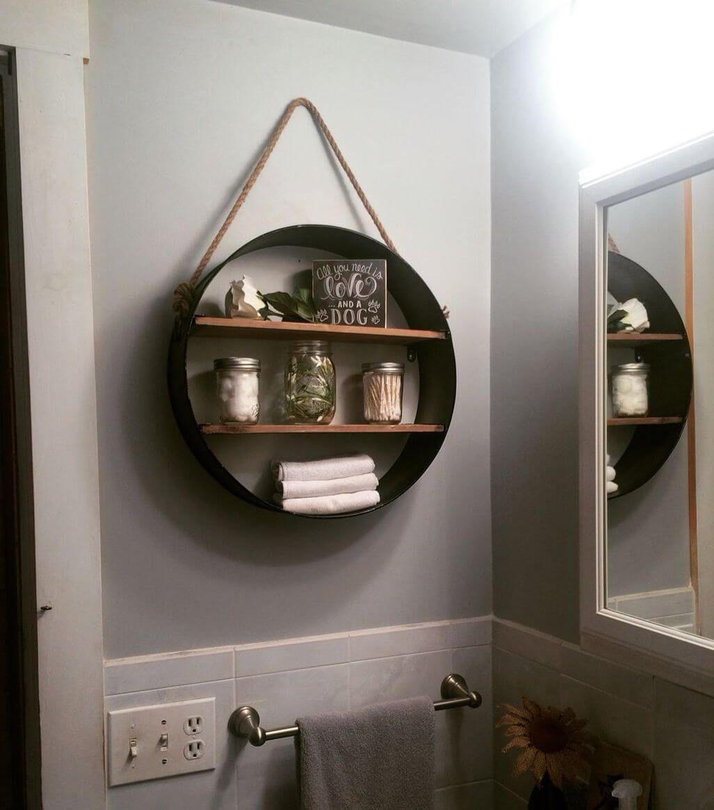 45 hängende Badezimmer-Speicher-Ideen für die Maximierung Ihres Badezimmer-Raumes #neuesdekor