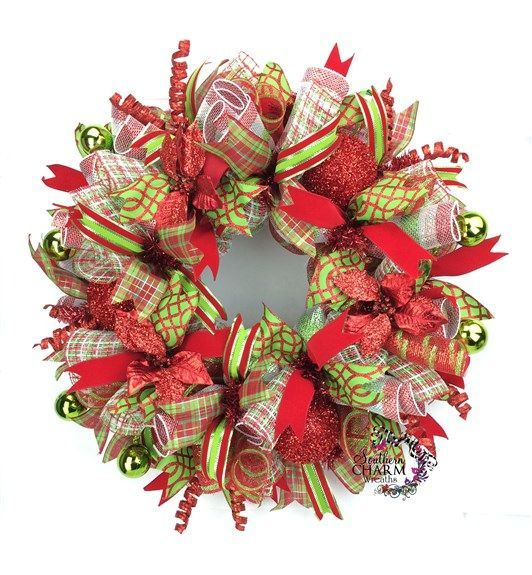 30 Minute Christmas Wreath Tutorial Poinsettia, Wreaths and Whimsical