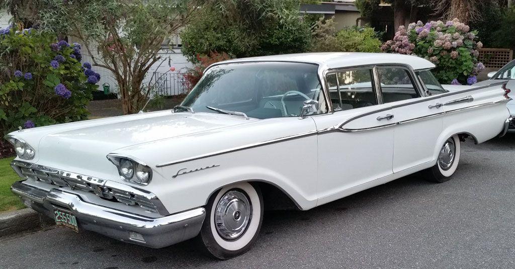1959 MonarchII Lucerne Mercury cars, Classy cars