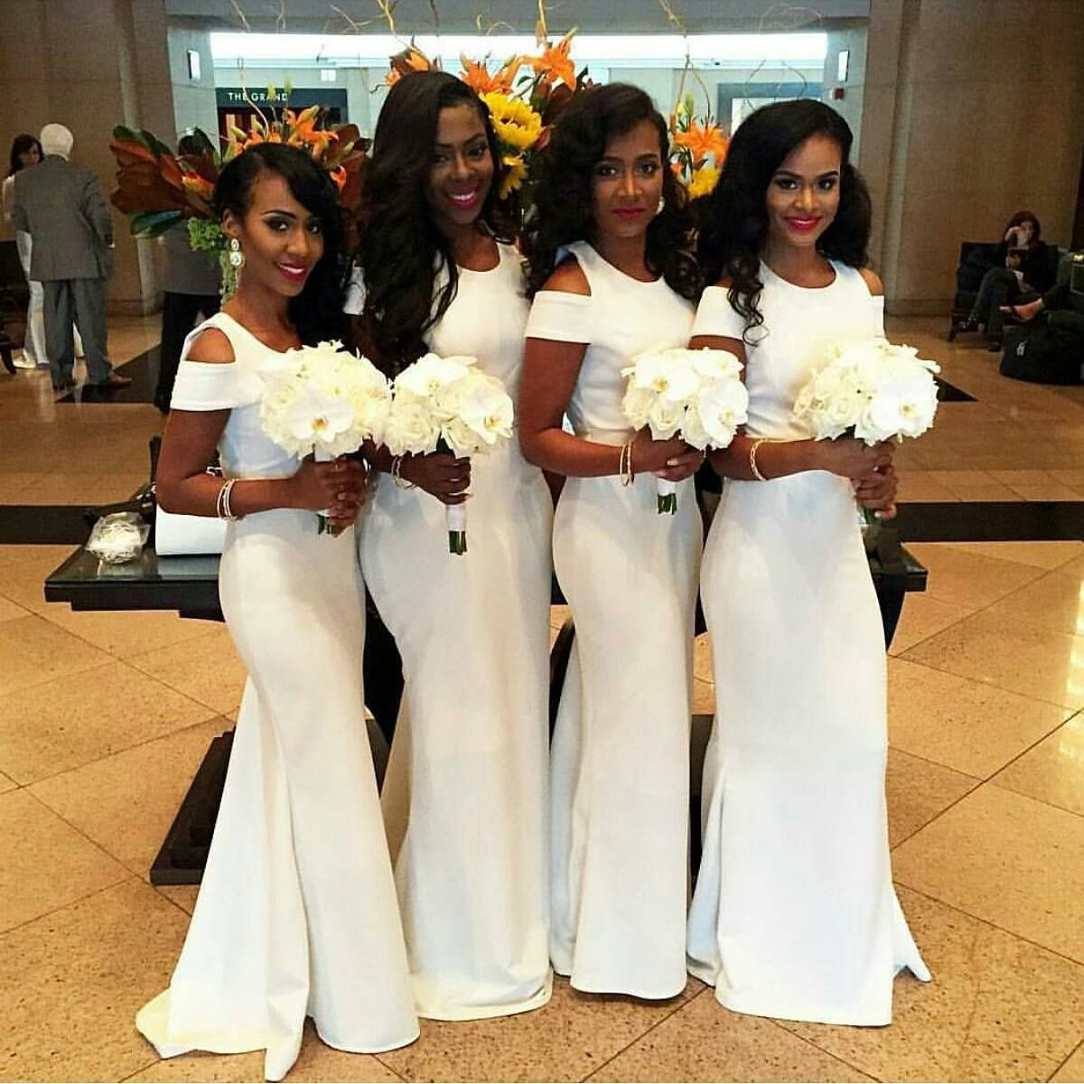Charming prom dresswhite prom dresssheath prom dressfashion cheap maid of honor gown buy quality maid of honor directly from china mermaid bridesmaid dresses suppliers afarican 2017 new white stain mermaid ombrellifo Image collections