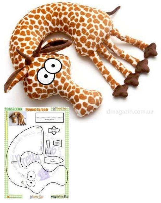giraffe neck pillow | cojines | Pinterest | Costura, Patrones y Moldes