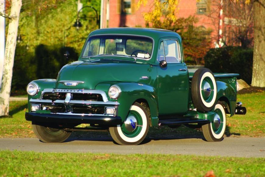 Forward March 1954 Chevrolet Chevrolet 3100 Chevrolet Vintage Pickup Trucks