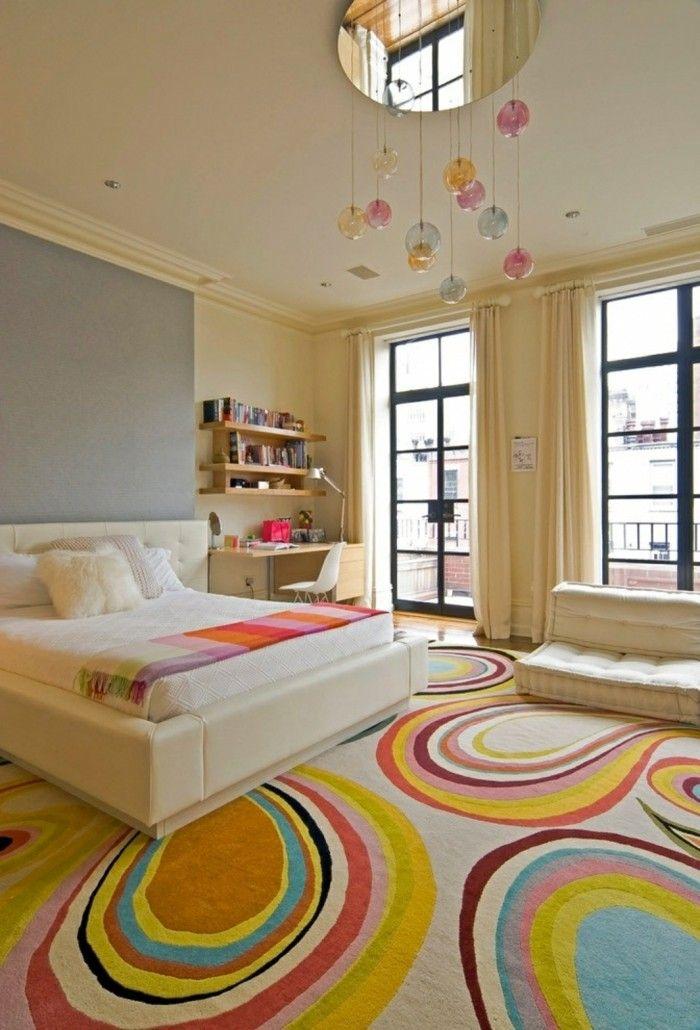 farbkombinationen im schlafzimmer gemütlich und frisch einrichten ...