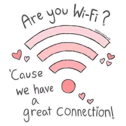 wifi pickup line