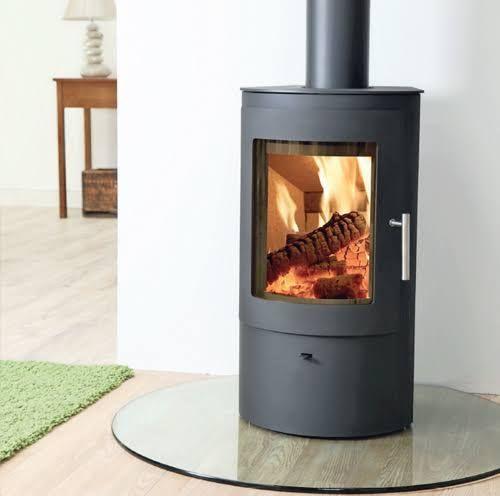 indoor log burner