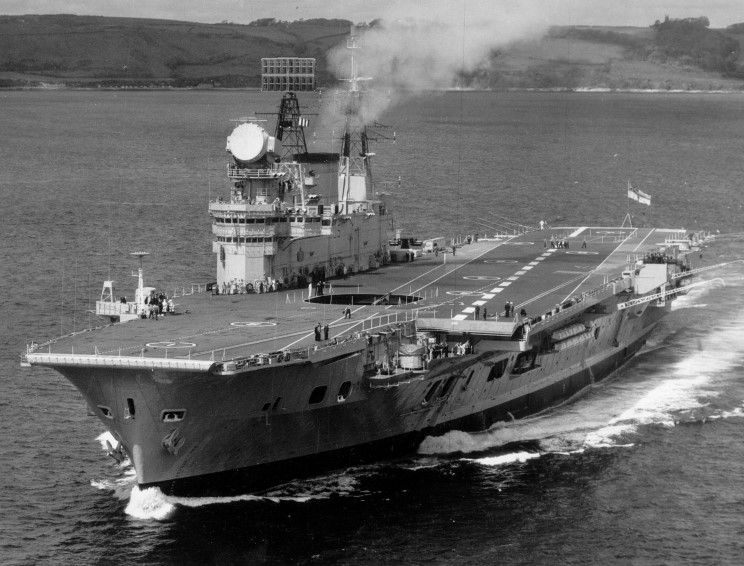 Image result for HMS eagle R05 island