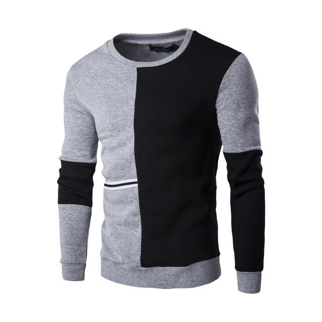 Spring Hoodie Sweatshirt Men Quality Cotton Hoodies Men Casual Sweatshirt Male Size M-2Xl