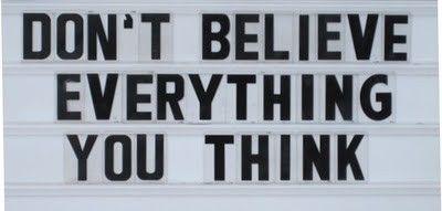 Don t believe