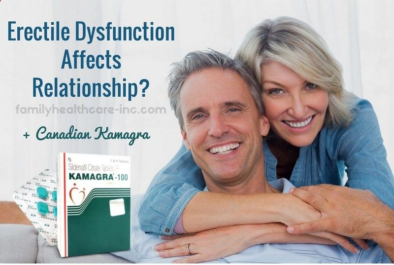 Erectile dysfunction affects not only a man who has difficulty in achieving erection, but also his close people, especially his sexual partner. Canadian HealthCare Mall explains how a woman can help man with erectile dysfunction
