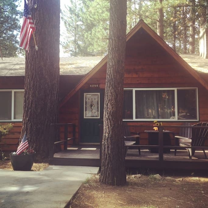 Cabin In Big Bear Lake United States Get Away At Big Bear Boarding House Pet Friendly No Hot Tub Fire Pit Rustic Cabin Cabins And Cottages Big Bear Lake