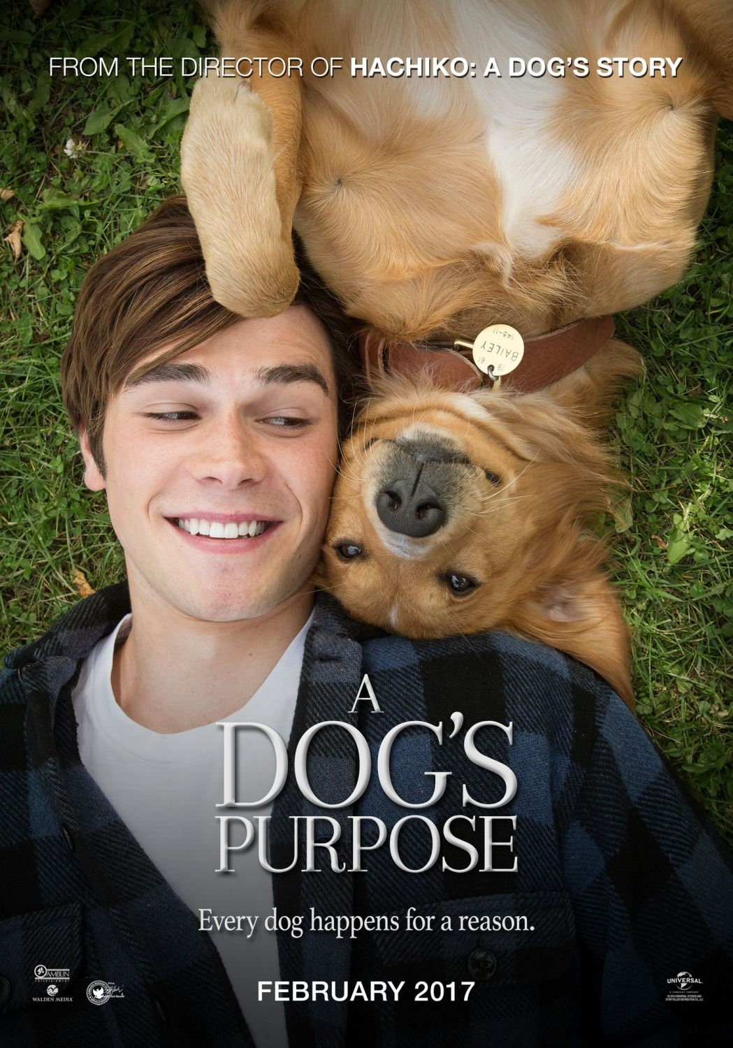 Return To The Main Poster Page For A Dog S Purpose 12 Of 12 A Dogs Purpose Movie A Dogs Purpose Streaming Movies Free