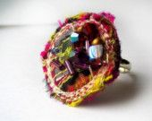 Textile ELVEN RING Free Shipping