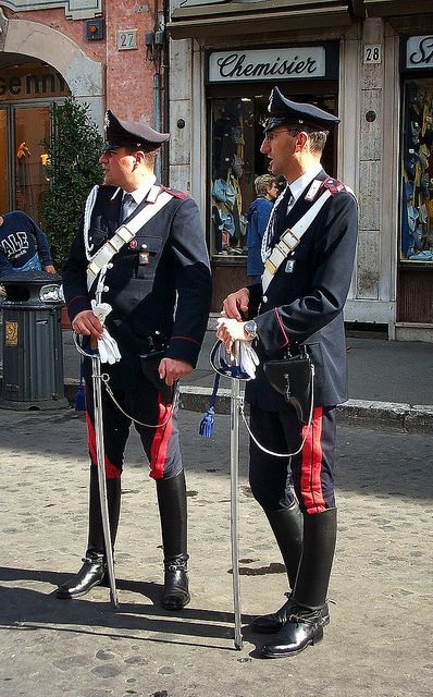 Carabinieri Uniforms Pinterest Military Italy And