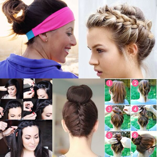 Pin By Stephanie Campos On Working Out Hair Styles Workout Hairstyles Cute Hairstyles Updos