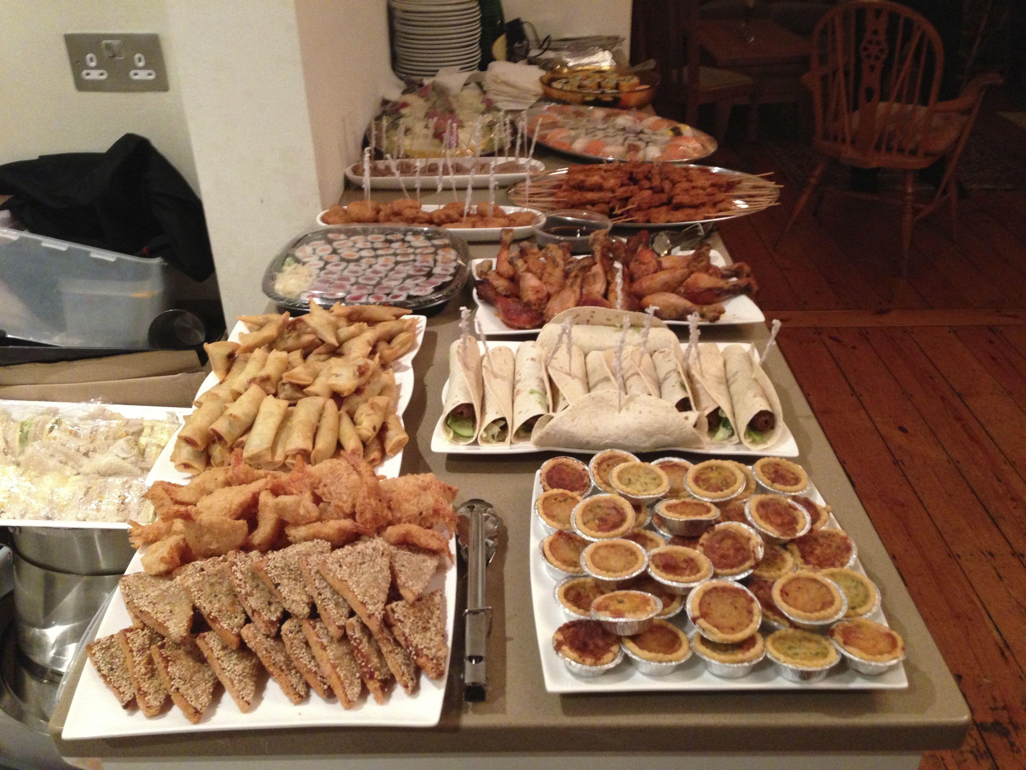 Buffet Catering, Buffet Food, Bespoke Buffet Food, Buffet