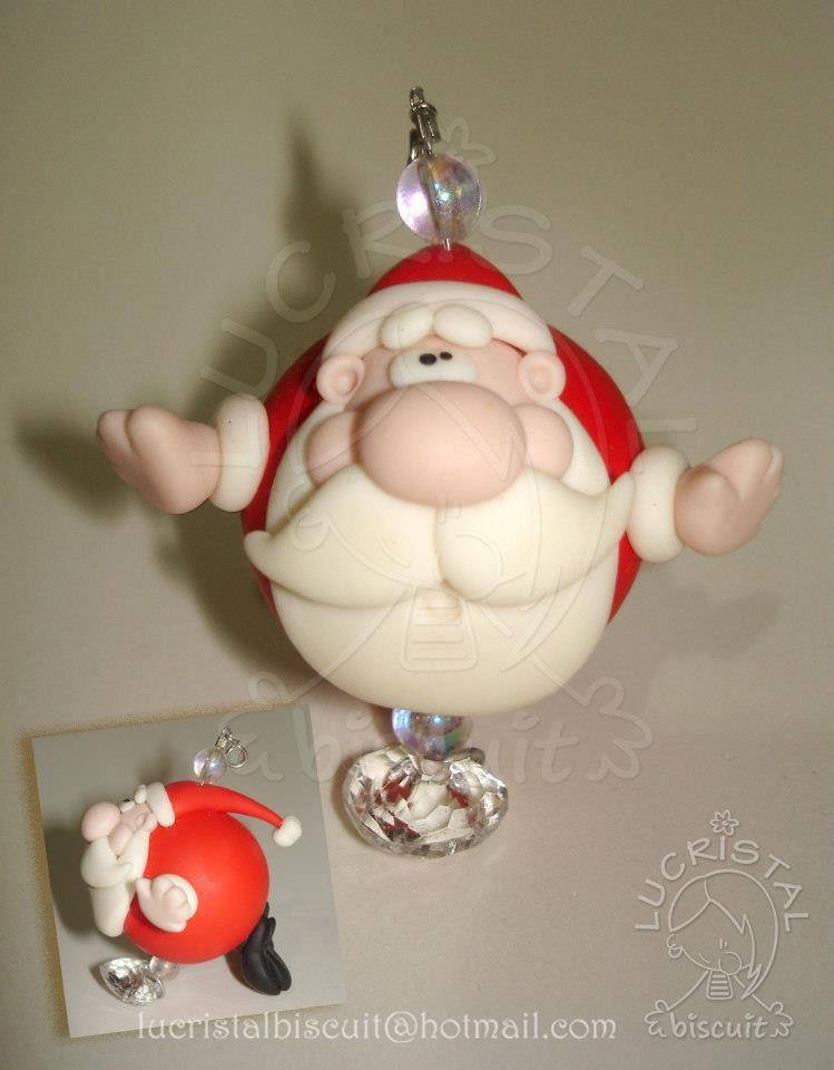 Meu Noelzinho pra pendurar no Pinheiro Meu