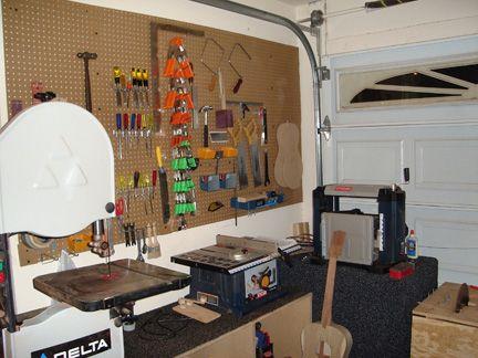Inspirational Basement Workshop Layout