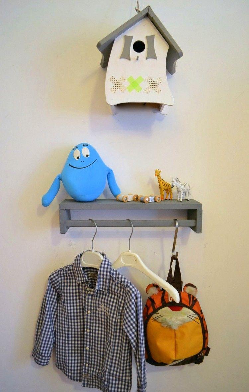 Ideen Kinderzimmer Junge Ikea Hack Gewürzregal Kleiderstange