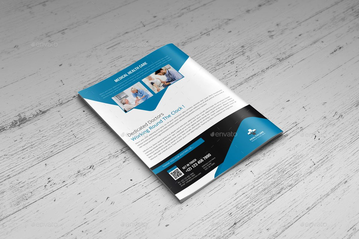 Medical Healthcare Brochure Indesign Template Healthcare