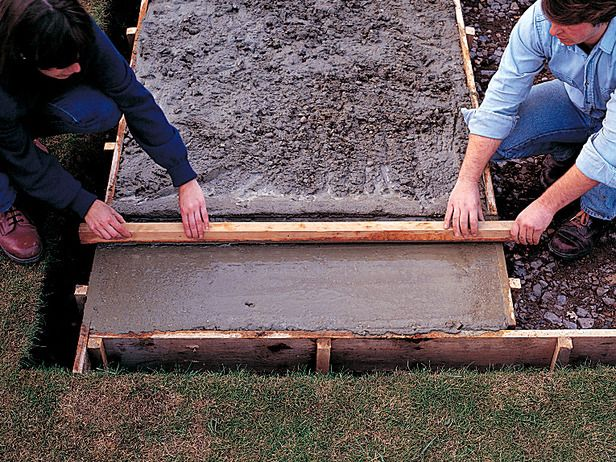 How To Lay A Concrete Pad