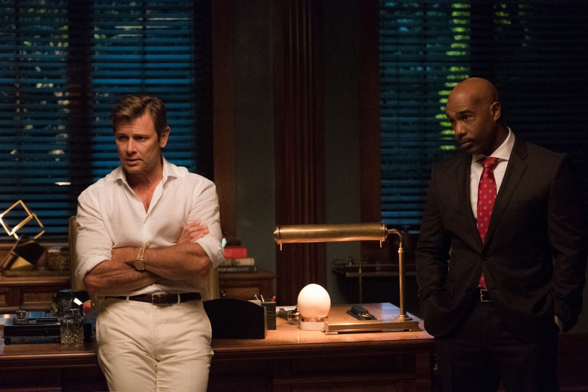 Grant Show And Michael Beach In Dynasty 2017 Series 12 Tv Series