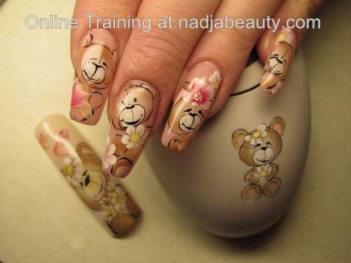 one stroke nail art - Cerca con Google - One Stroke Nail Art - Cerca Con Google Nails Pinterest