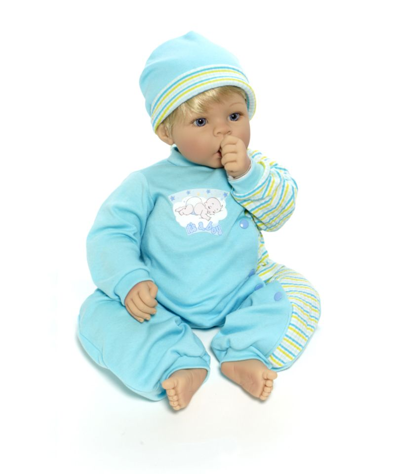 Madame Alexander Cuddle Babies - Mommy's Delight - Boy Doll - Light Skin, Blonde Hair, Blue Eyes - Cuddle Babies