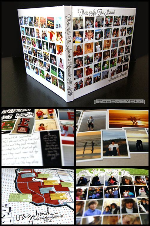 Easy Photo Book From Digital Scrapbook Layouts Plus Exclusive   Coupon  Layouts  Coupon Layouts