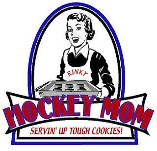 Hockey Mom Serving Up Tough Cookies Hockey Mom Hockey Mom Quote Hockey