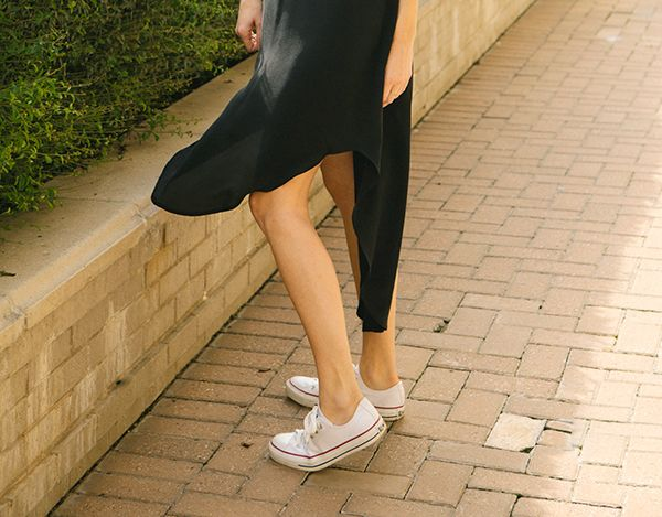 Chic in Sneakers