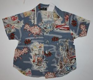 This Infant Boy's Button up Short Sleeve Shirt Size 6 Mo is only $2.77