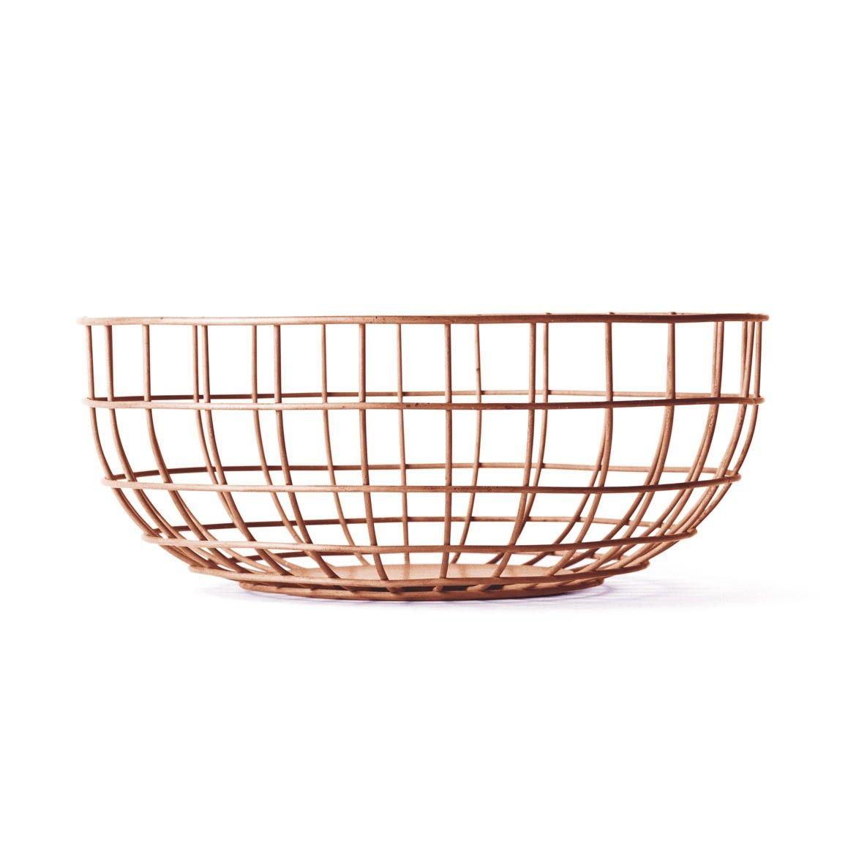 Wire Copper Bowl - Aria £40 | Copper Interiors | Pinterest | Bowls ...