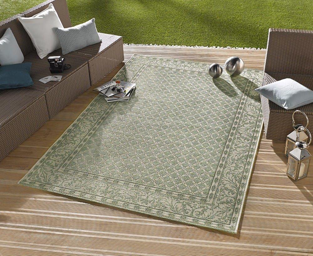 Grüner teppich terrasse  In- und Outdoor Teppich Bougari Royal Grün 102477 | Pinterest ...