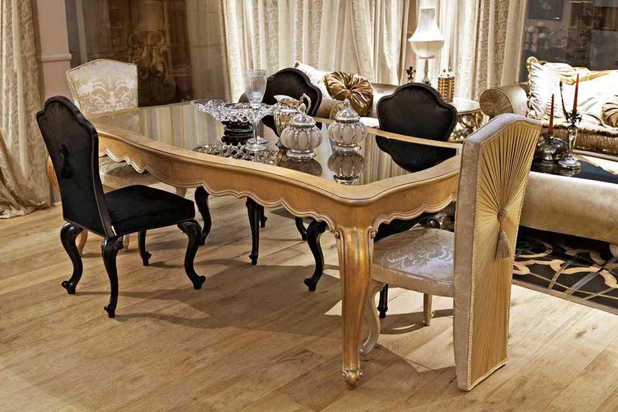 طاولات طعام وديكورات غرف طعام وغرف سفرة إيطالية فخمة ديكورات أرابيا In 2021 Luxury House Designs Dining Table Furniture