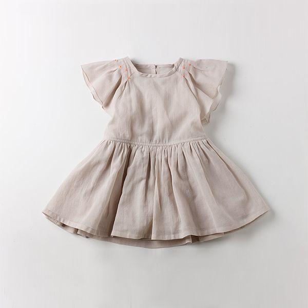 pin tack  detail dress