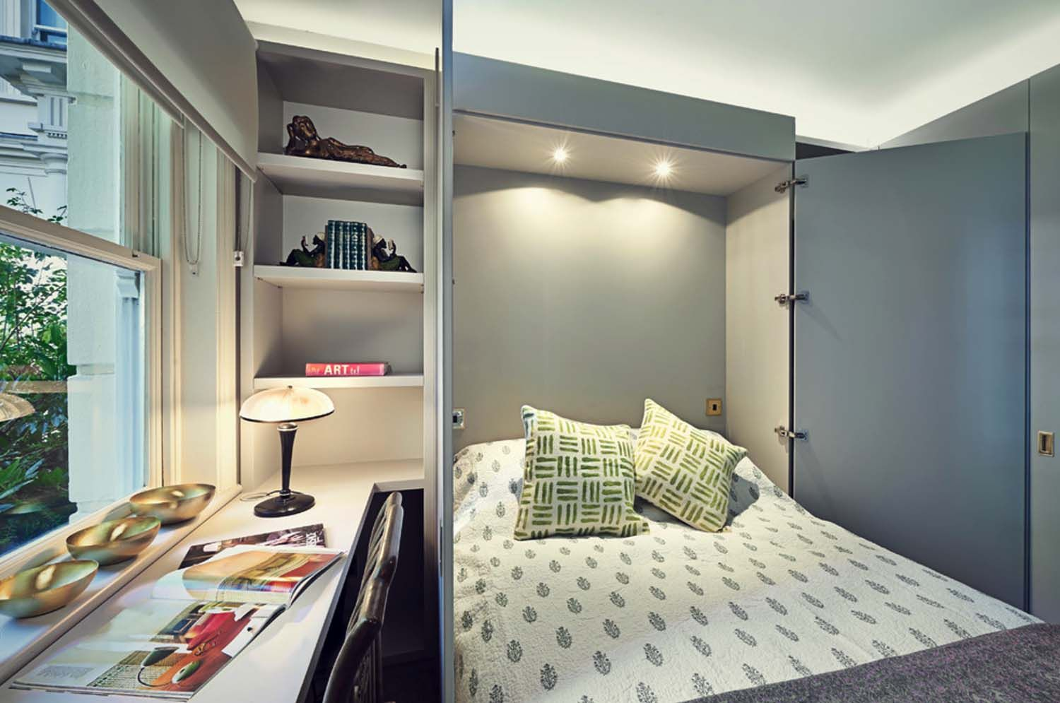25 Fabulous ideas for a home office in the bedroom Small